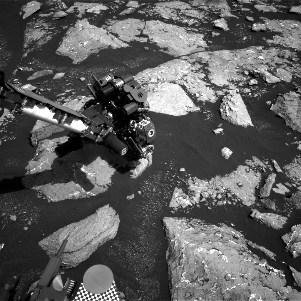 NASA's Mars rover Curiosity acquired this image using its Right Navigation Cameras (Navcams) on Sol 1536