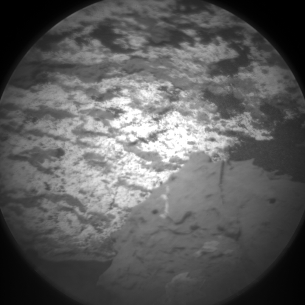 Nasa's Mars rover Curiosity acquired this image using its Chemistry & Camera (ChemCam) on Sol 1537, at drive 2830, site number 59