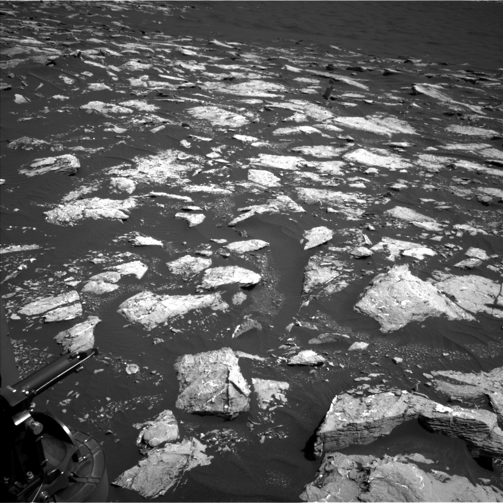 Nasa's Mars rover Curiosity acquired this image using its Left Navigation Camera on Sol 1537, at drive 2830, site number 59