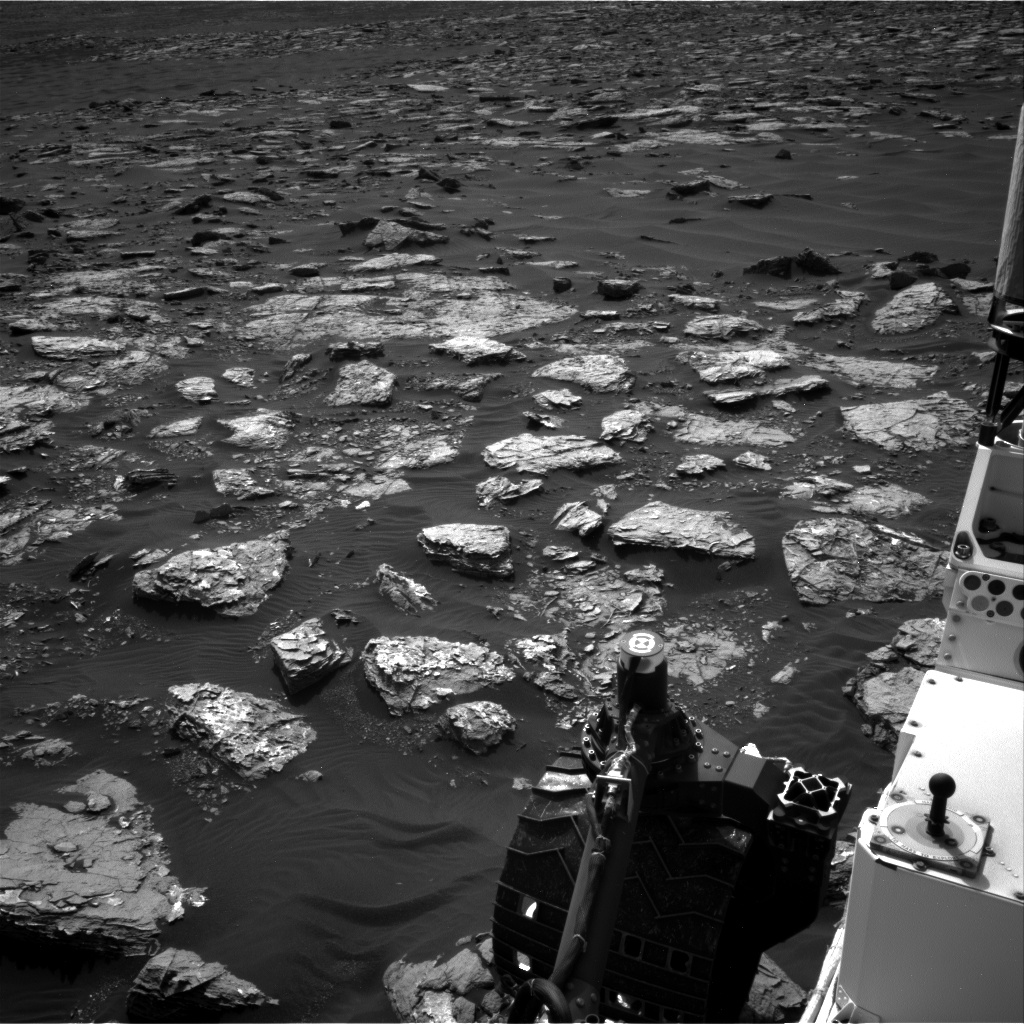 Nasa's Mars rover Curiosity acquired this image using its Right Navigation Camera on Sol 1537, at drive 2830, site number 59