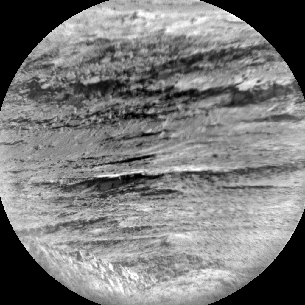 Nasa's Mars rover Curiosity acquired this image using its Chemistry & Camera (ChemCam) on Sol 1538, at drive 2830, site number 59