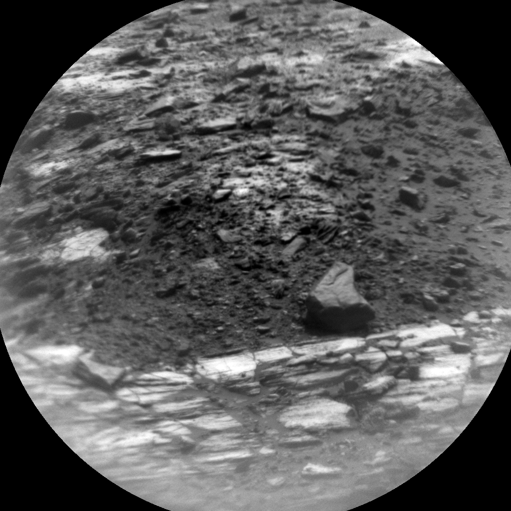 Nasa's Mars rover Curiosity acquired this image using its Chemistry & Camera (ChemCam) on Sol 1539, at drive 2830, site number 59