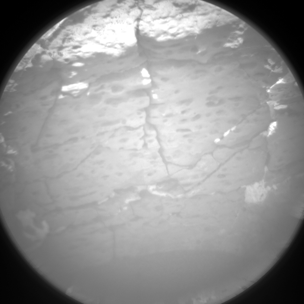 Nasa's Mars rover Curiosity acquired this image using its Chemistry & Camera (ChemCam) on Sol 1541, at drive 2830, site number 59