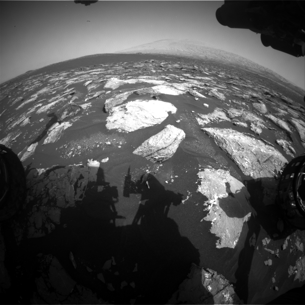 Nasa's Mars rover Curiosity acquired this image using its Front Hazard Avoidance Camera (Front Hazcam) on Sol 1541, at drive 2830, site number 59