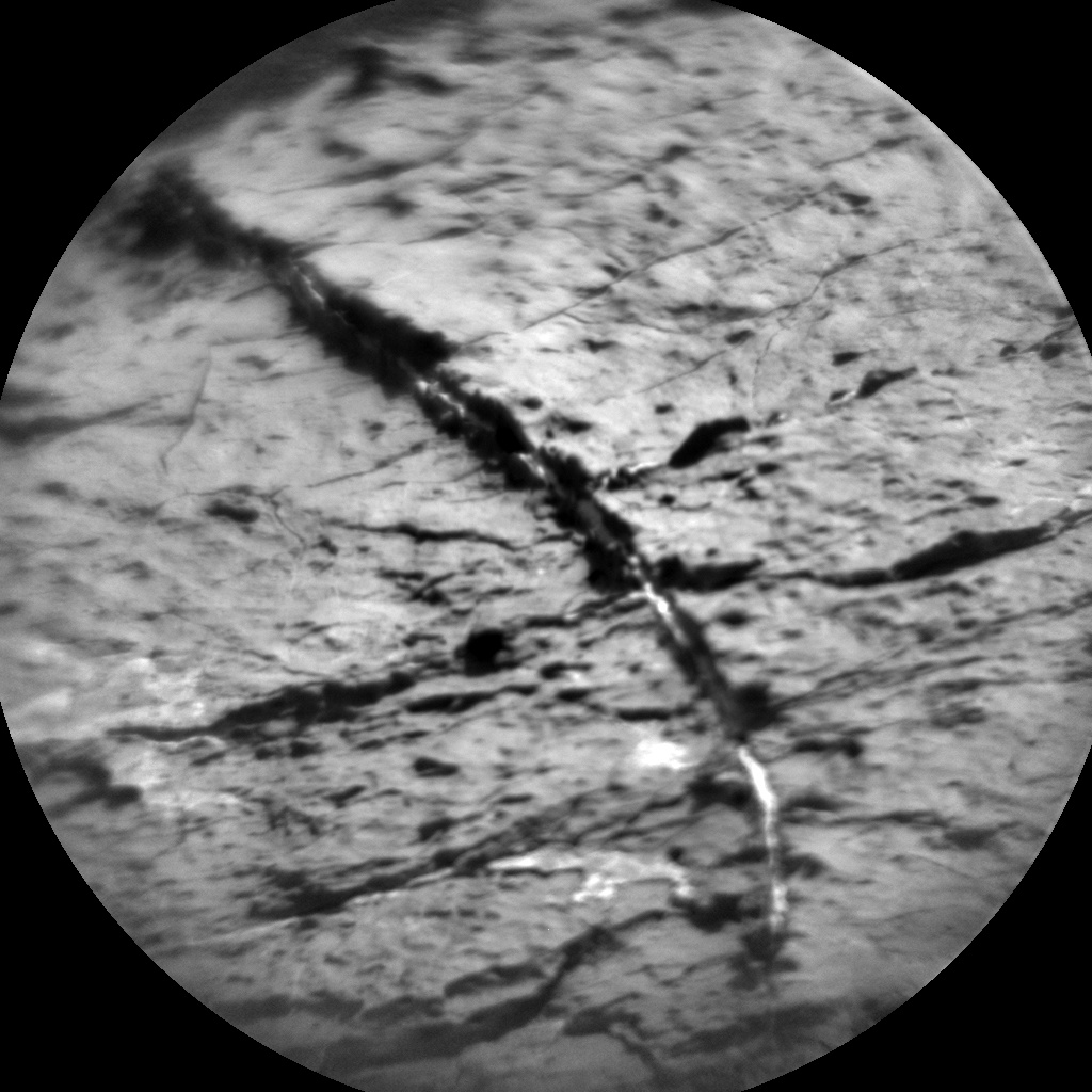 NASA's Mars rover Curiosity acquired this image using its Chemistry & Camera (ChemCam) on Sol 1541