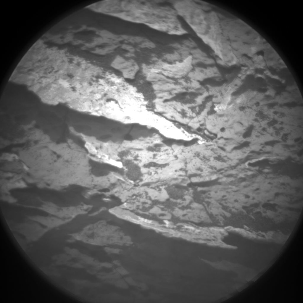 Nasa's Mars rover Curiosity acquired this image using its Chemistry & Camera (ChemCam) on Sol 1544, at drive 2830, site number 59