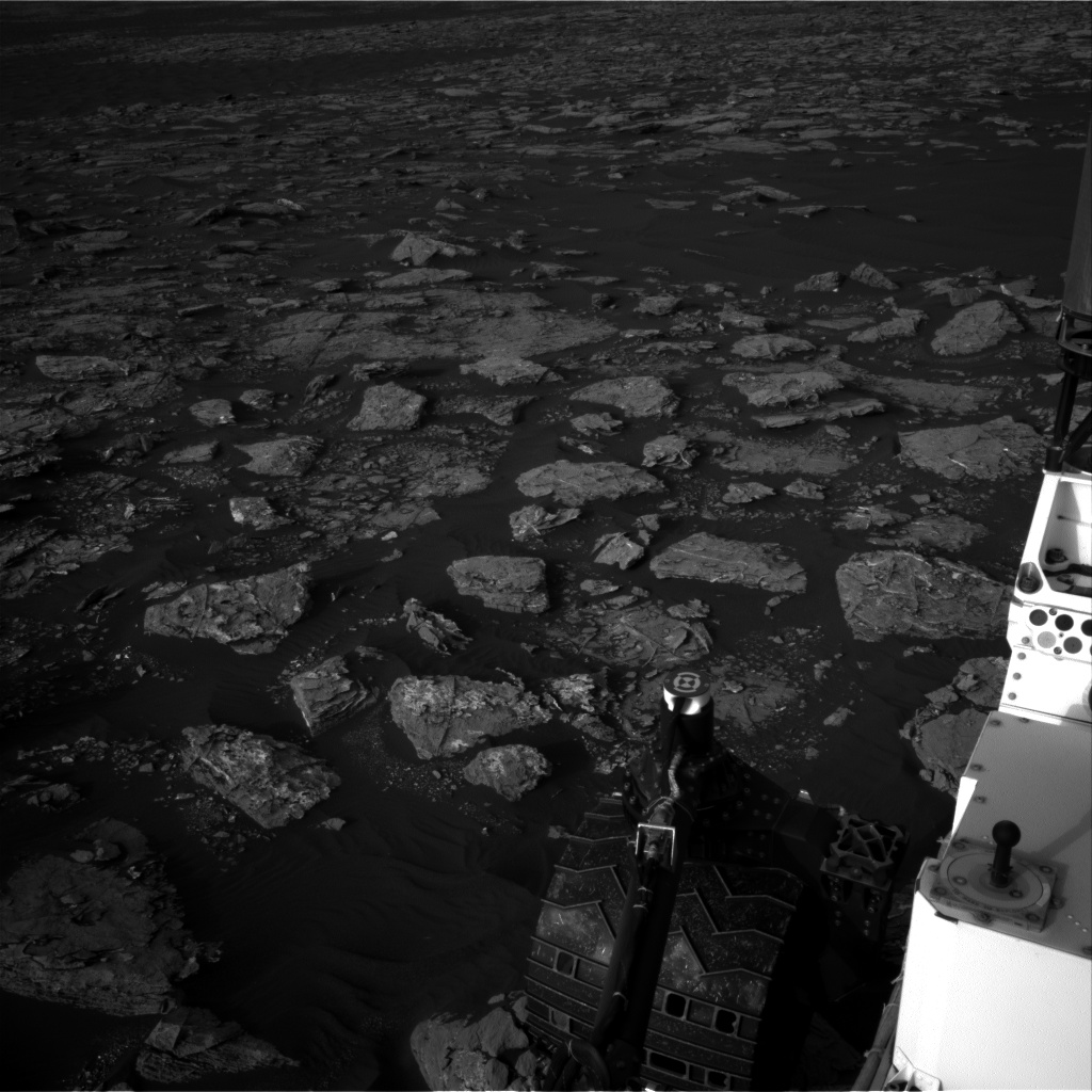 Nasa's Mars rover Curiosity acquired this image using its Right Navigation Camera on Sol 1544, at drive 2830, site number 59