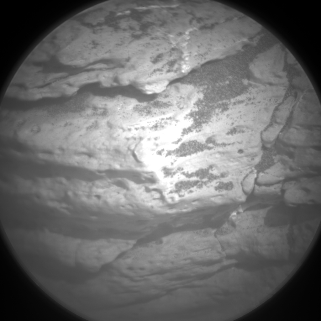 Nasa's Mars rover Curiosity acquired this image using its Chemistry & Camera (ChemCam) on Sol 1545, at drive 2830, site number 59