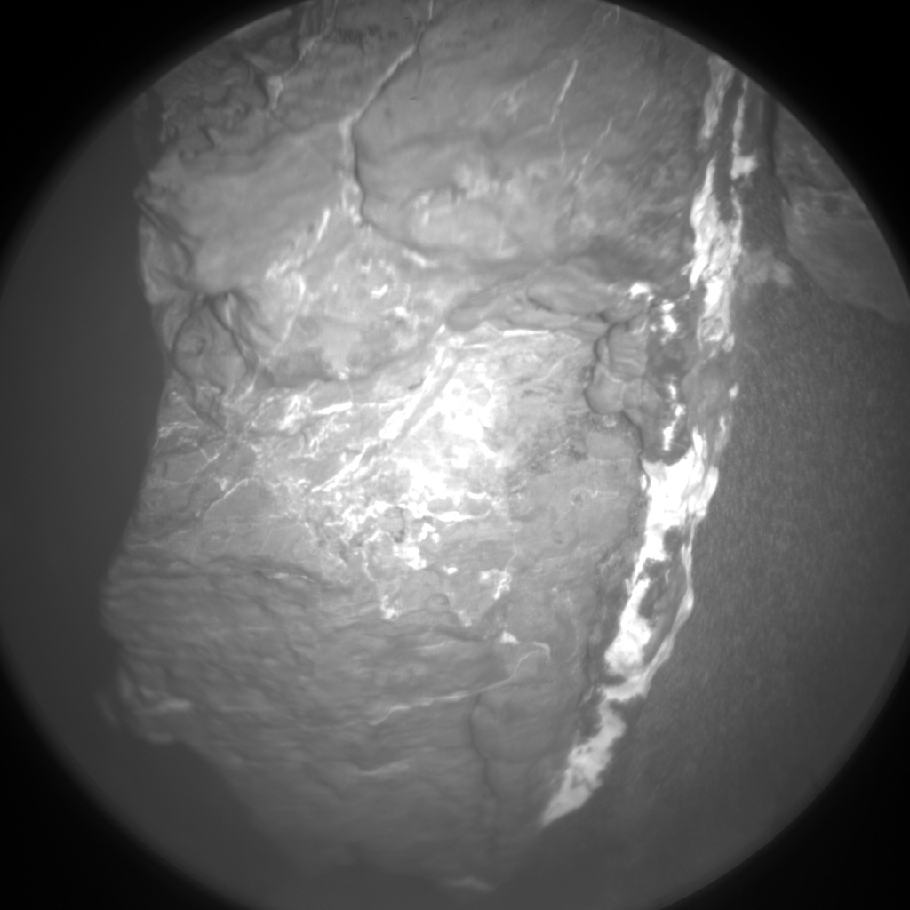 Nasa's Mars rover Curiosity acquired this image using its Chemistry & Camera (ChemCam) on Sol 1546, at drive 2830, site number 59