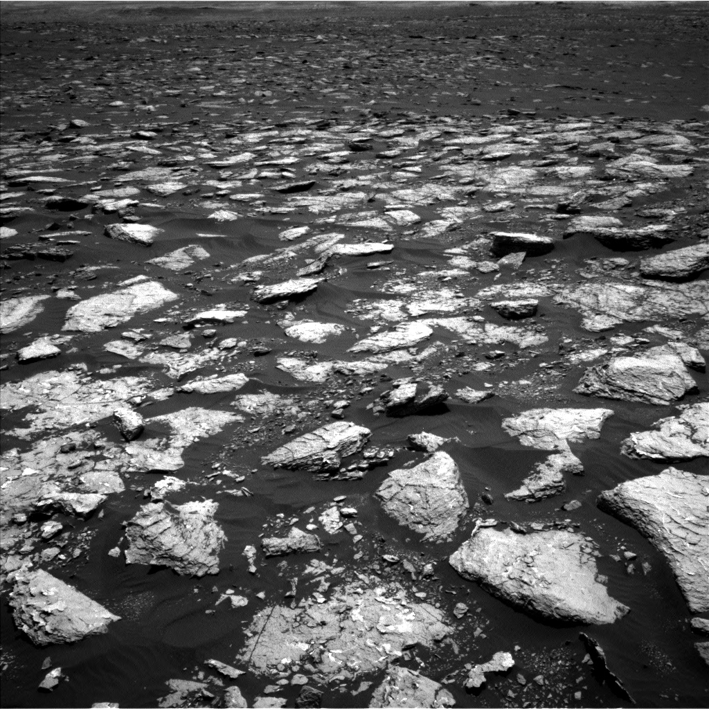 Nasa's Mars rover Curiosity acquired this image using its Left Navigation Camera on Sol 1547, at drive 2830, site number 59