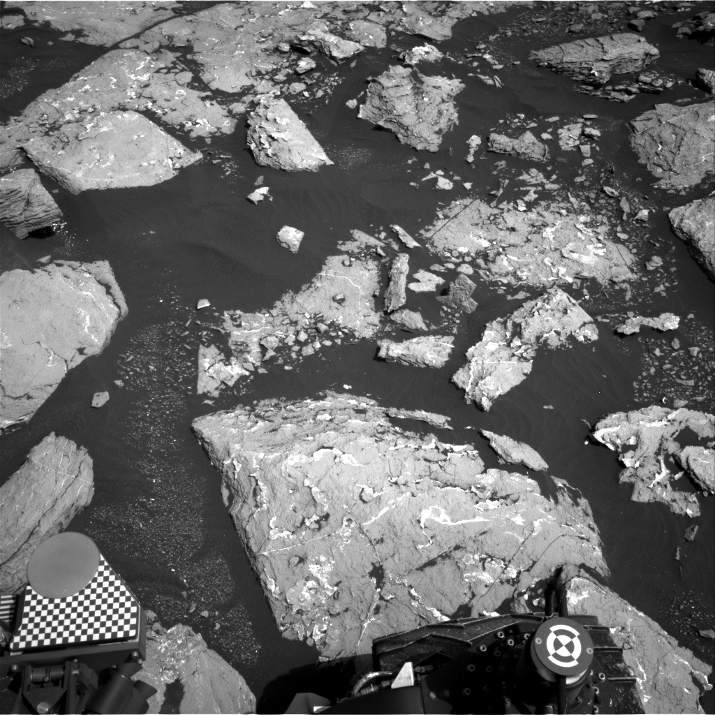 Nasa's Mars rover Curiosity acquired this image using its Right Navigation Camera on Sol 1547, at drive 2830, site number 59