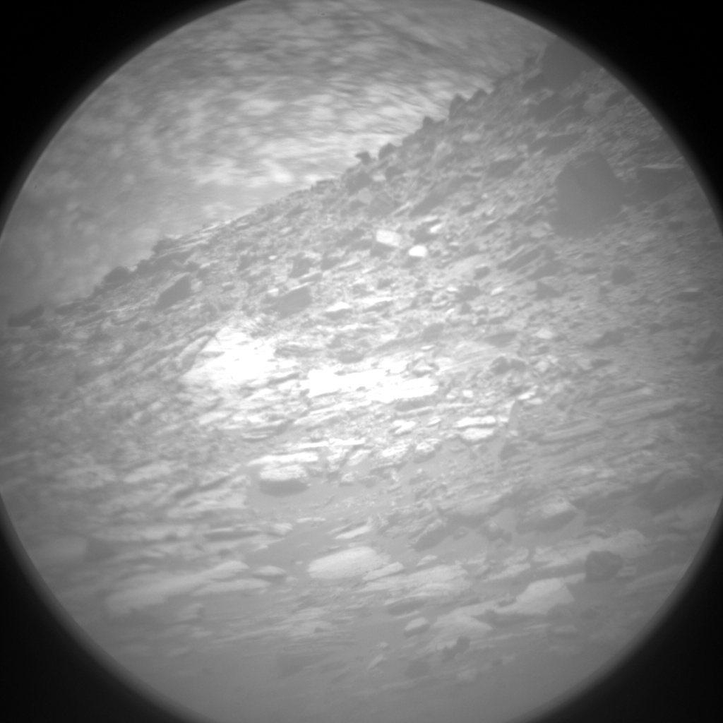 Nasa's Mars rover Curiosity acquired this image using its Chemistry & Camera (ChemCam) on Sol 1548, at drive 2830, site number 59