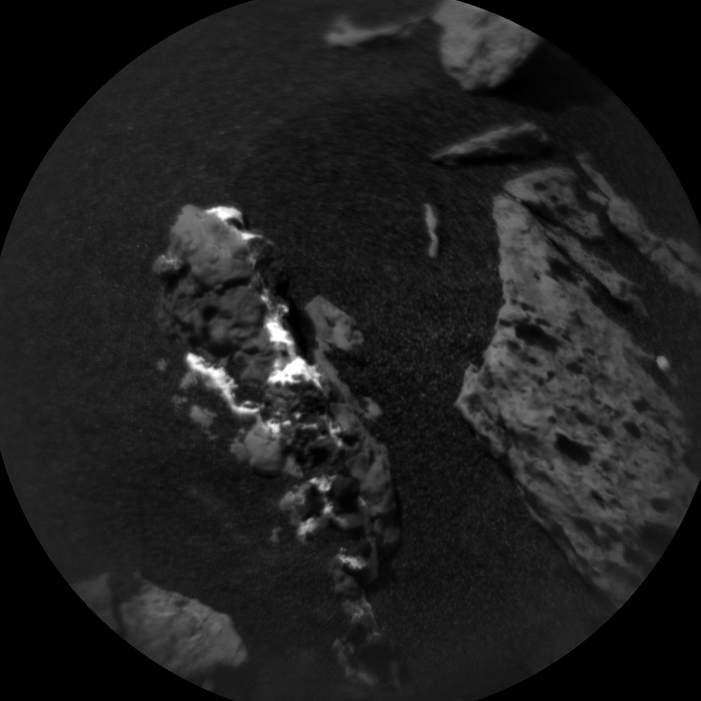 Nasa's Mars rover Curiosity acquired this image using its Chemistry & Camera (ChemCam) on Sol 1550, at drive 2830, site number 59