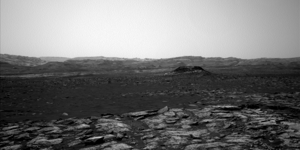 Nasa's Mars rover Curiosity acquired this image using its Left Navigation Camera on Sol 1551, at drive 2830, site number 59