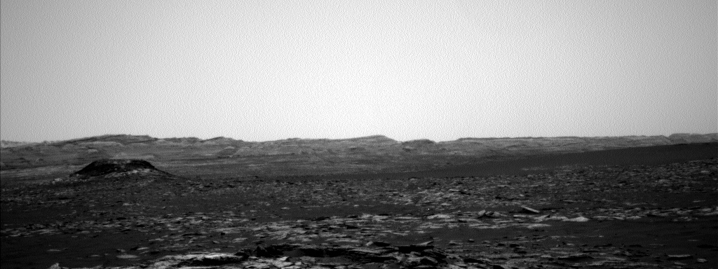 Nasa's Mars rover Curiosity acquired this image using its Left Navigation Camera on Sol 1552, at drive 2830, site number 59