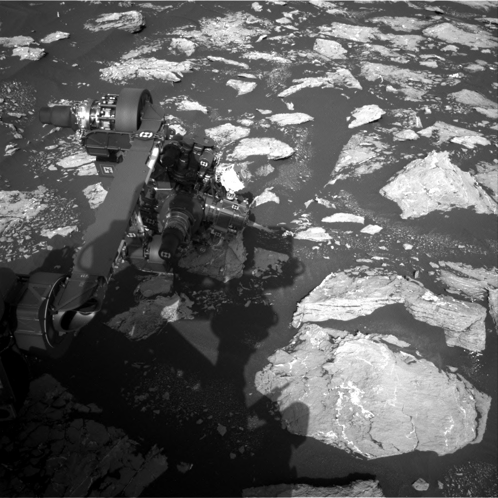 Nasa's Mars rover Curiosity acquired this image using its Right Navigation Camera on Sol 1552, at drive 2830, site number 59