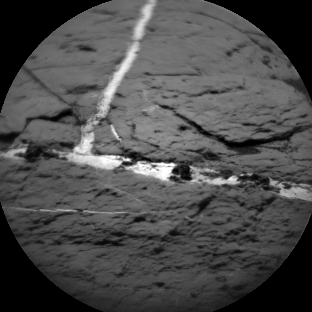 Nasa's Mars rover Curiosity acquired this image using its Chemistry & Camera (ChemCam) on Sol 1552, at drive 2830, site number 59