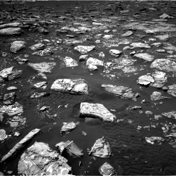 Nasa's Mars rover Curiosity acquired this image using its Left Navigation Camera on Sol 1553, at drive 2890, site number 59