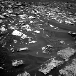 Nasa's Mars rover Curiosity acquired this image using its Left Navigation Camera on Sol 1553, at drive 2932, site number 59