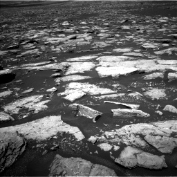Nasa's Mars rover Curiosity acquired this image using its Left Navigation Camera on Sol 1553, at drive 2974, site number 59