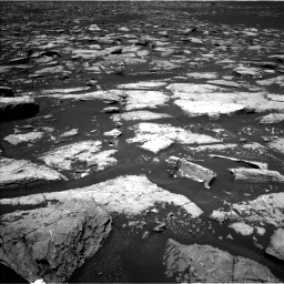 Nasa's Mars rover Curiosity acquired this image using its Left Navigation Camera on Sol 1553, at drive 2980, site number 59
