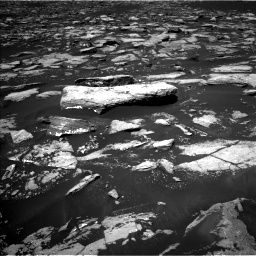 Nasa's Mars rover Curiosity acquired this image using its Left Navigation Camera on Sol 1553, at drive 2998, site number 59