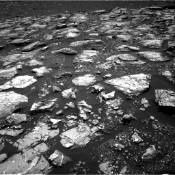 Nasa's Mars rover Curiosity acquired this image using its Right Navigation Camera on Sol 1553, at drive 2848, site number 59