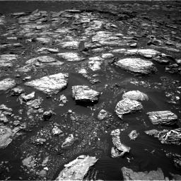 Nasa's Mars rover Curiosity acquired this image using its Right Navigation Camera on Sol 1553, at drive 2854, site number 59