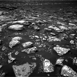 Nasa's Mars rover Curiosity acquired this image using its Right Navigation Camera on Sol 1553, at drive 2866, site number 59