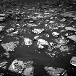 Nasa's Mars rover Curiosity acquired this image using its Right Navigation Camera on Sol 1553, at drive 2878, site number 59