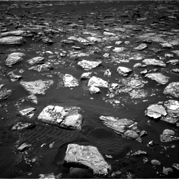 Nasa's Mars rover Curiosity acquired this image using its Right Navigation Camera on Sol 1553, at drive 2884, site number 59
