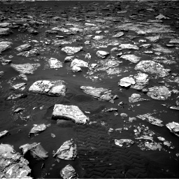 Nasa's Mars rover Curiosity acquired this image using its Right Navigation Camera on Sol 1553, at drive 2890, site number 59