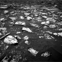 Nasa's Mars rover Curiosity acquired this image using its Right Navigation Camera on Sol 1553, at drive 2896, site number 59