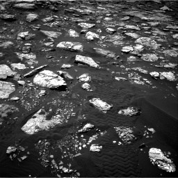 Nasa's Mars rover Curiosity acquired this image using its Right Navigation Camera on Sol 1553, at drive 2902, site number 59