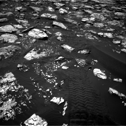 Nasa's Mars rover Curiosity acquired this image using its Right Navigation Camera on Sol 1553, at drive 2908, site number 59