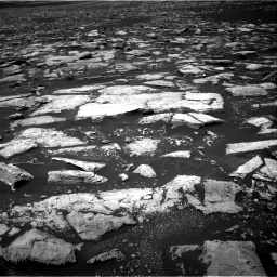 Nasa's Mars rover Curiosity acquired this image using its Right Navigation Camera on Sol 1553, at drive 2968, site number 59