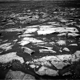 Nasa's Mars rover Curiosity acquired this image using its Right Navigation Camera on Sol 1553, at drive 2974, site number 59