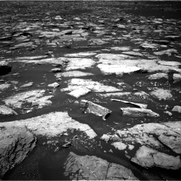 Nasa's Mars rover Curiosity acquired this image using its Right Navigation Camera on Sol 1553, at drive 2980, site number 59