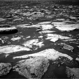 NASA's Mars rover Curiosity acquired this image using its Right Navigation Cameras (Navcams) on Sol 1553