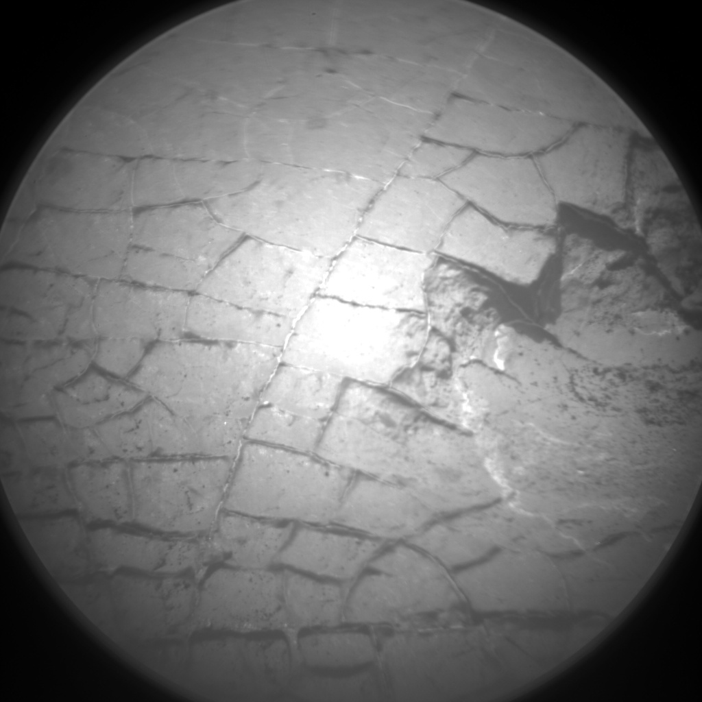Nasa's Mars rover Curiosity acquired this image using its Chemistry & Camera (ChemCam) on Sol 1555, at drive 3004, site number 59