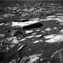 Nasa's Mars rover Curiosity acquired this image using its Left Navigation Camera on Sol 1555, at drive 3010, site number 59