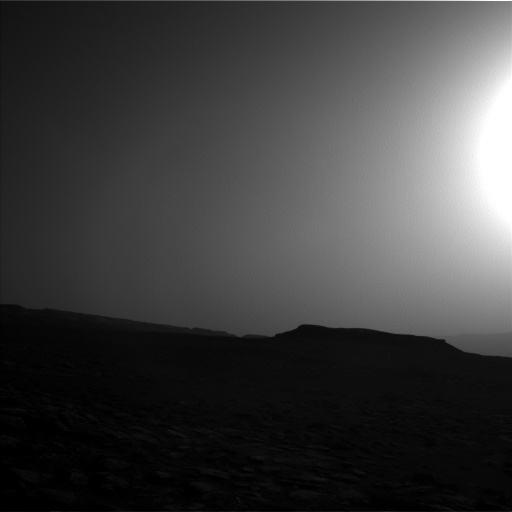 Nasa's Mars rover Curiosity acquired this image using its Left Navigation Camera on Sol 1555, at drive 3016, site number 59