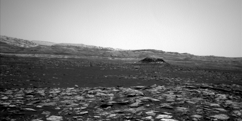 NASA's Mars rover Curiosity acquired this image using its Left Navigation Camera (Navcams) on Sol 1566