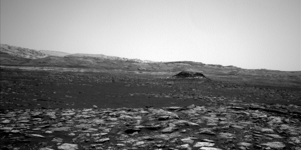 Nasa's Mars rover Curiosity acquired this image using its Left Navigation Camera on Sol 1566, at drive 3016, site number 59