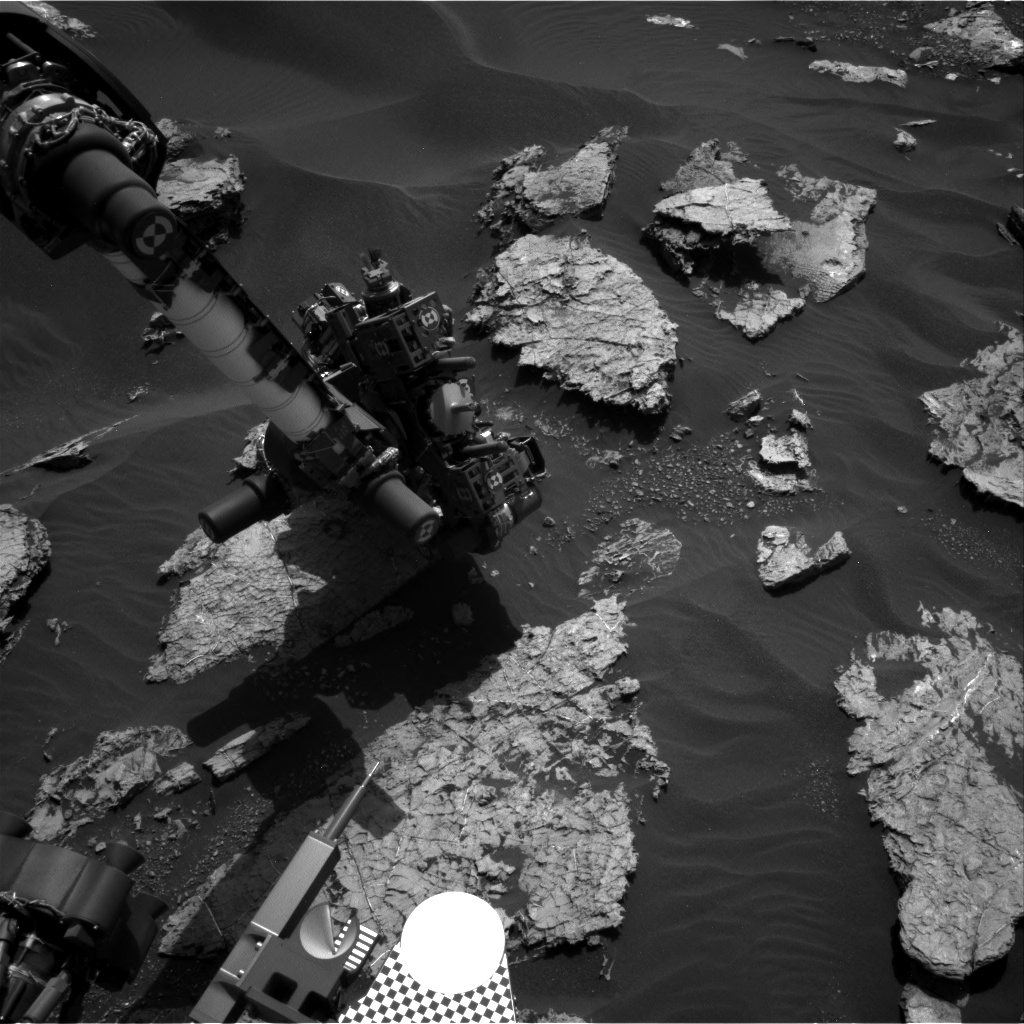 Nasa's Mars rover Curiosity acquired this image using its Right Navigation Camera on Sol 1567, at drive 3016, site number 59