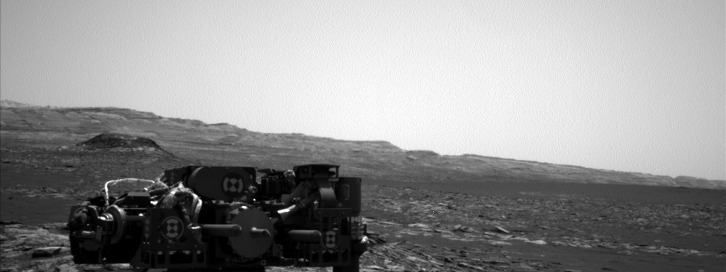 Nasa's Mars rover Curiosity acquired this image using its Left Navigation Camera on Sol 1568, at drive 3016, site number 59