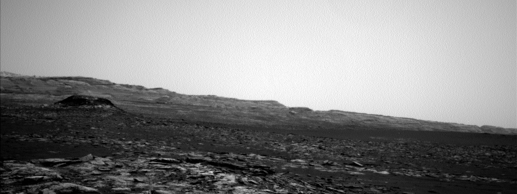 Nasa's Mars rover Curiosity acquired this image using its Left Navigation Camera on Sol 1570, at drive 3016, site number 59