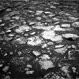 Nasa's Mars rover Curiosity acquired this image using its Left Navigation Camera on Sol 1571, at drive 3100, site number 59