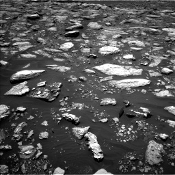 Nasa's Mars rover Curiosity acquired this image using its Left Navigation Camera on Sol 1571, at drive 3124, site number 59