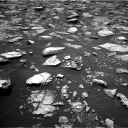 Nasa's Mars rover Curiosity acquired this image using its Left Navigation Camera on Sol 1571, at drive 3130, site number 59